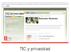 ticy privacidad